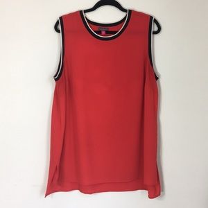 Vince Camuto 1X tunic tank ringer